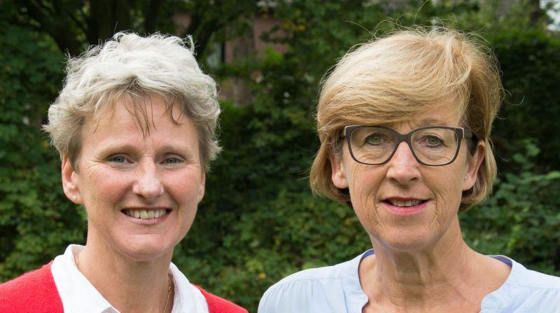 Ynske Heddema en Hilda Eikenaar